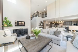 Crestview Model Home Living Room