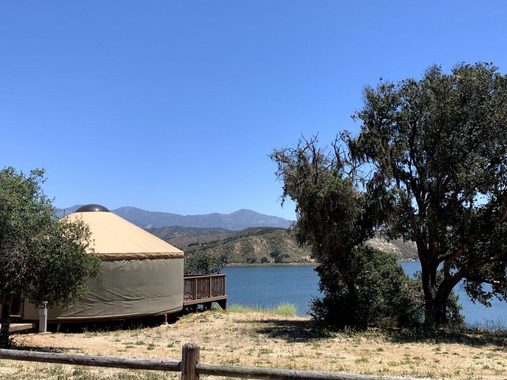 Yurt at Lake Cachuma