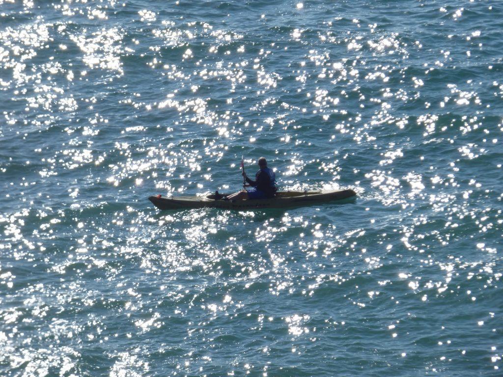 Kayaking in Santa Barbara
