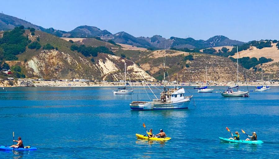Avila Beach Boats