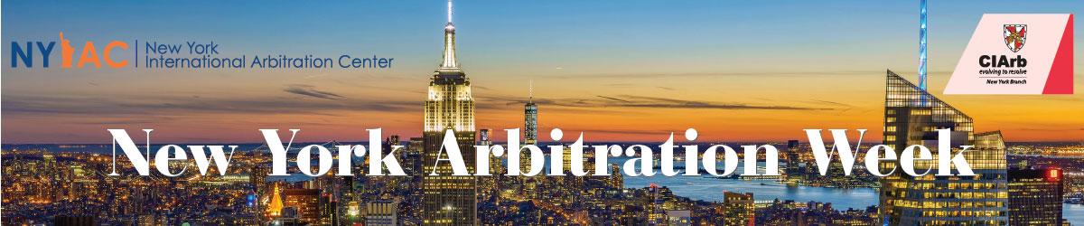 New York Arbitration Week