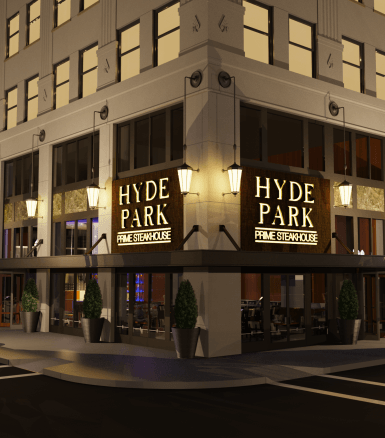Hyde Park Prime Steakhouse Set for Downtown Indy's Illinois Building Development