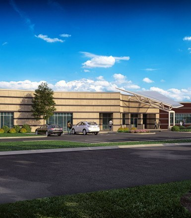 Keystone Construction and Johnson Memorial upgrade healthcare in Whiteland, Indiana