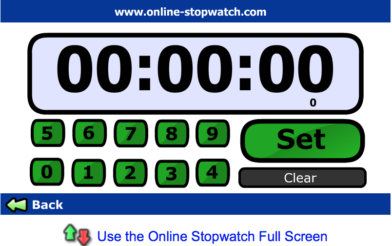 Use an Online Stopwatch to time cutting - Save time using Interactive Notebooks - Getting Nerdy