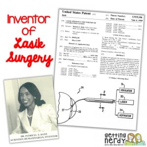 Women of Science - Patricia Era Bath - Getting Nerdy