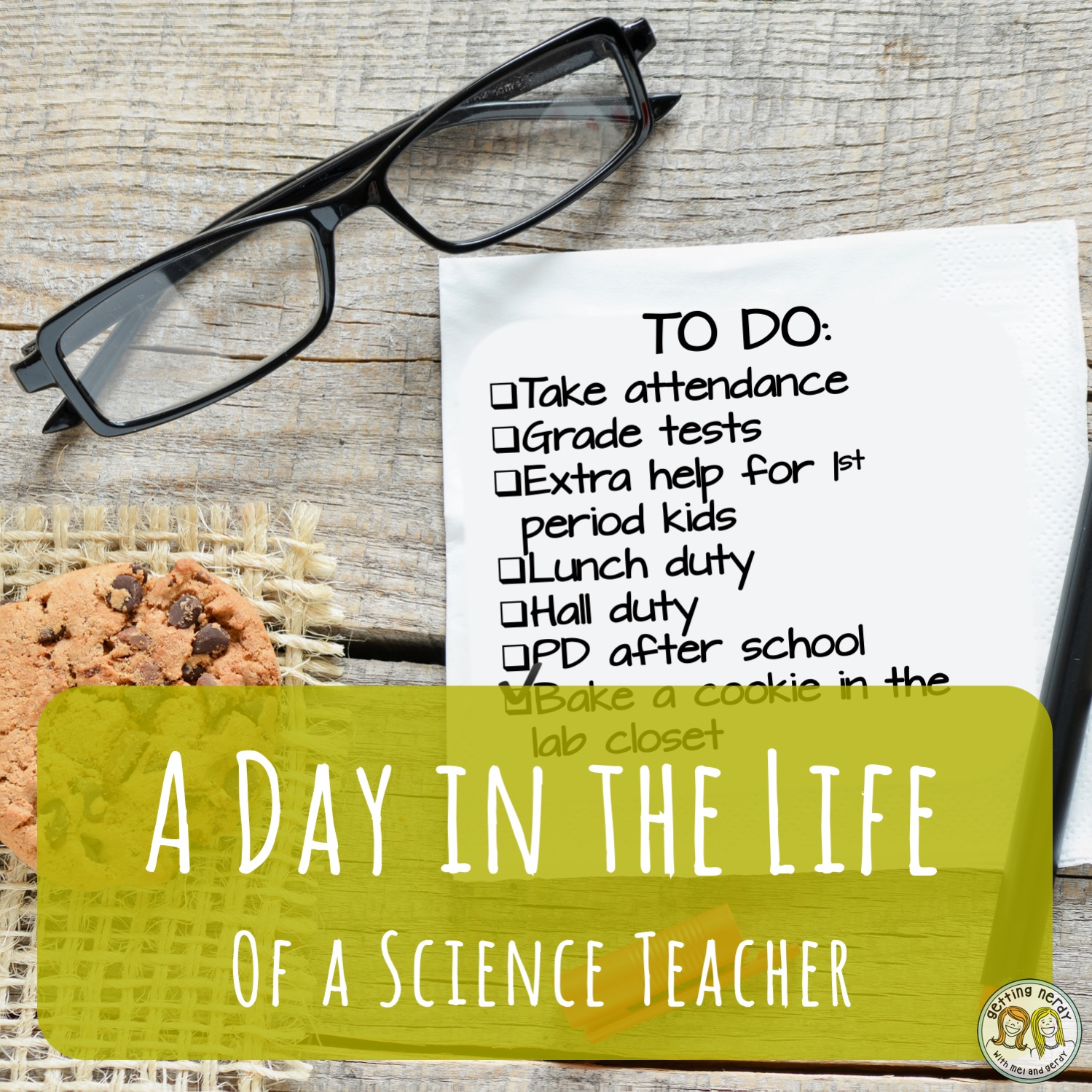 A Day in the Life of A Science Teacher