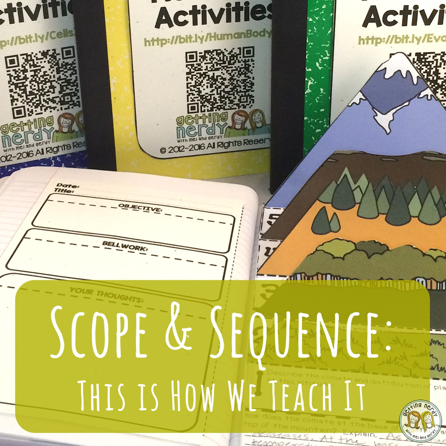 Life Science Scope and Sequence