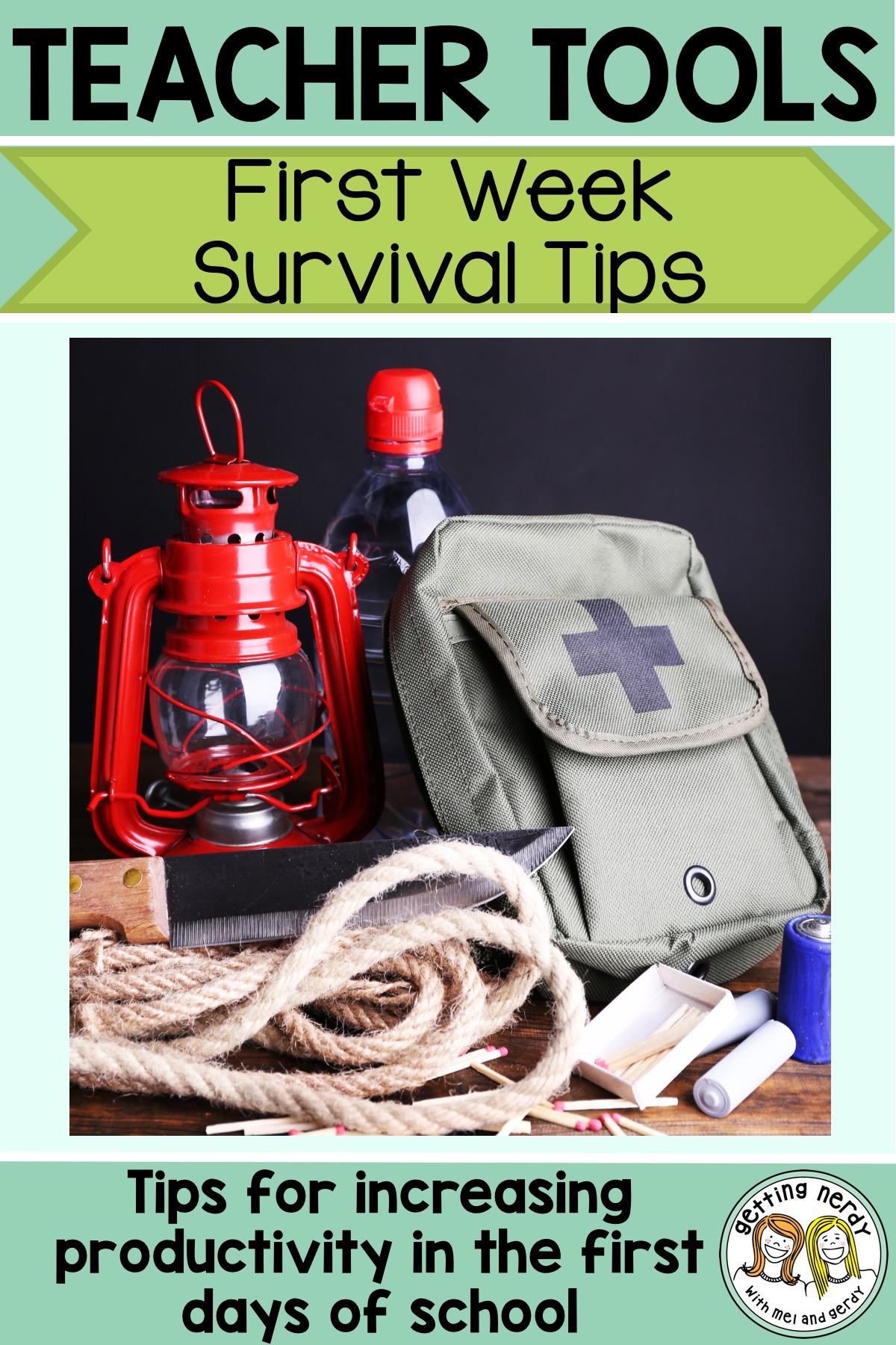 Teacher Tools: First Week of School Survival Tips