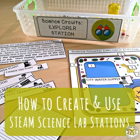 Lesson Plan: Create and Use STEAM Science Stations