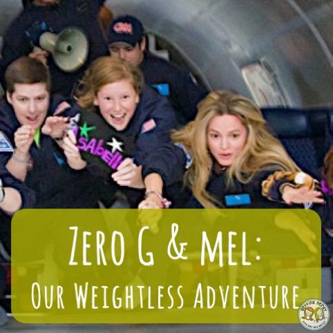 Zero G and Mel's Weightless Adventure