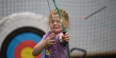 archery at camp