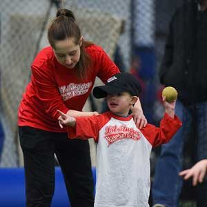 Baseball for Kids - learn to throw