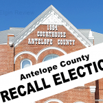 Tom Borer Allan Bentley Elgin Nebraska Antelope County Nebraska Antelope County Commissioners Elgin News Elgin Review Recall election