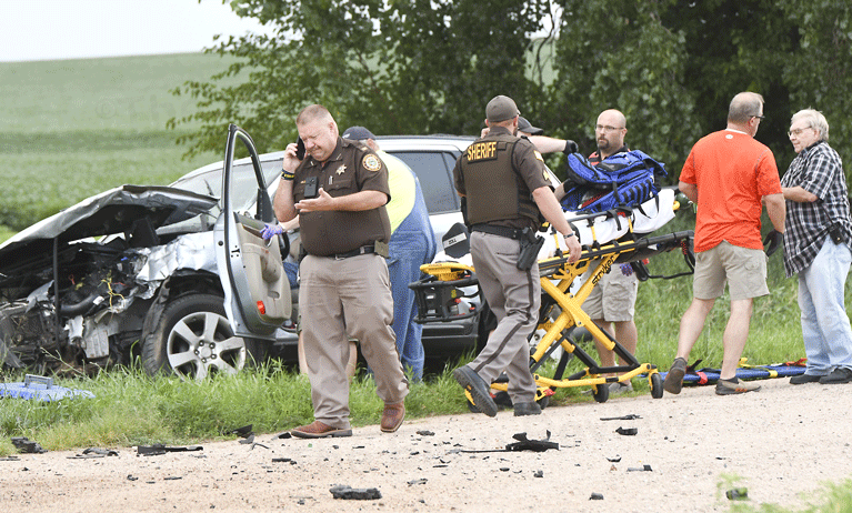 Elgin, Nebraska Antelope County Nebraska accident Eric Iler Cody Hoefer Antelope County Sheriff Department Elgin Fire & Rescue Elgin Review