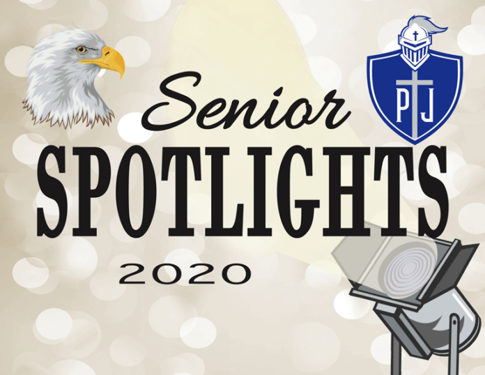 Senior Spotlights featured art