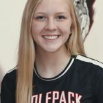 EPPJ Wolfpack Elgin Public School Pope John XXIII Central Catholic High School Elgin, Nebraska Antelope County Nebraska Wolfpack high school volleyball Faith Kinney