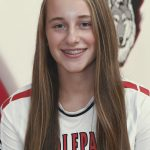 EPPJ Wolfpack Elgin Public School Pope John XXIII Central Catholic High School Elgin, Nebraska Antelope County Nebraska Wolfpack high school volleyball Taylynne Charf