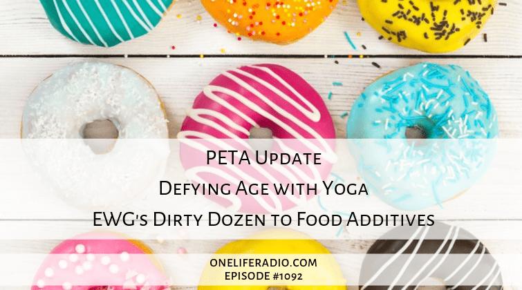 Dirty Dozen Food Additives