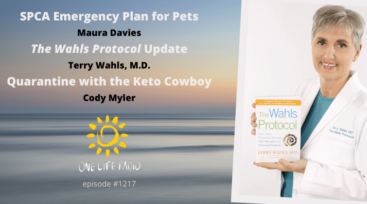 Pets and COVID-19 and One Life Radio