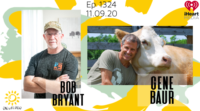 Bob Bryant, gene baur, animal sanctuary, mission k9 rescue