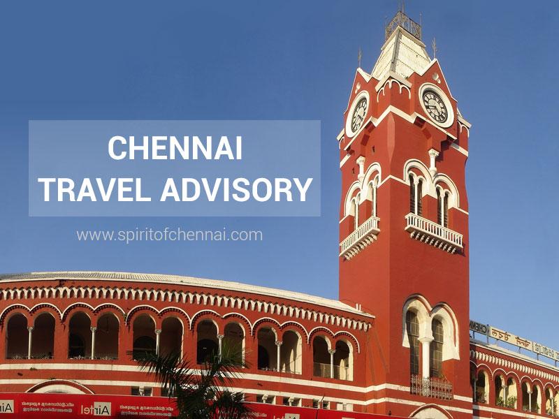 Chennai Travel Advisory