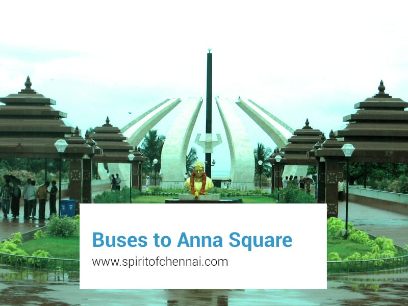 MTC Buses to Anna Square