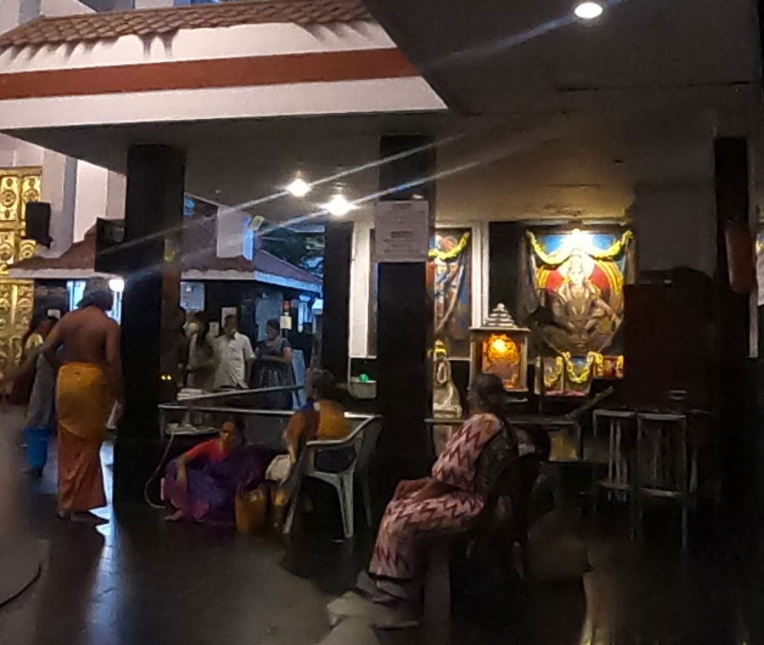 Inside Iyappan Temple Anna Nagar