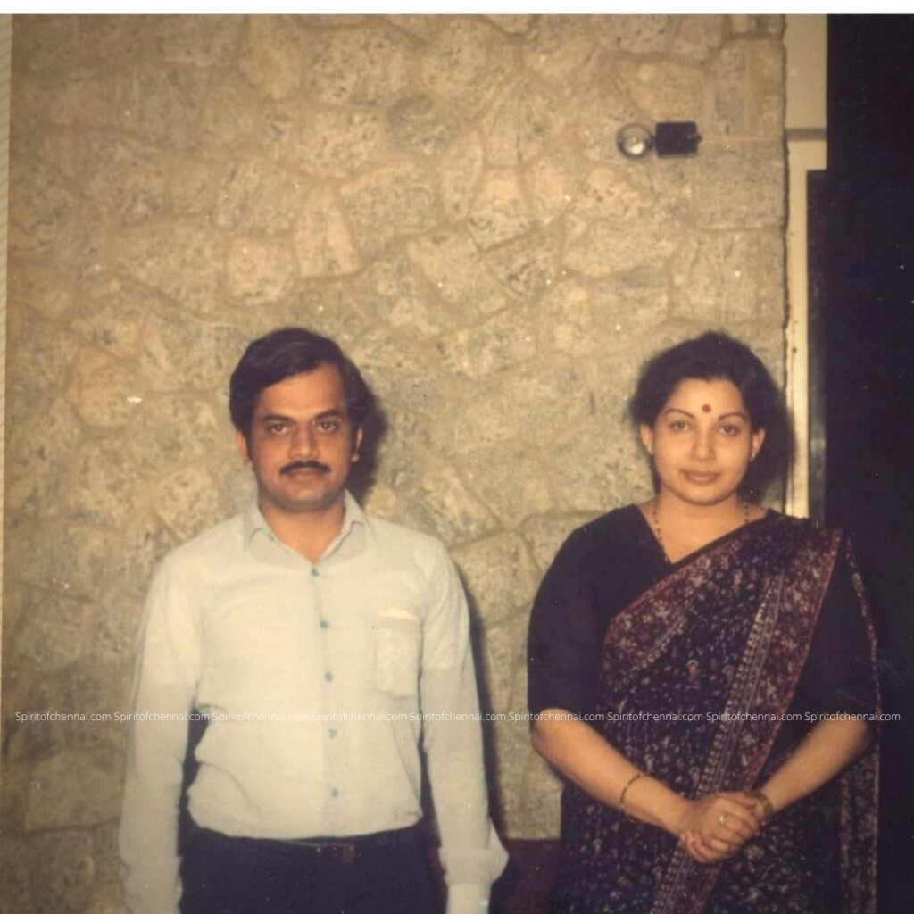 J.C.D.Prabhakar with J.Jayalalitha