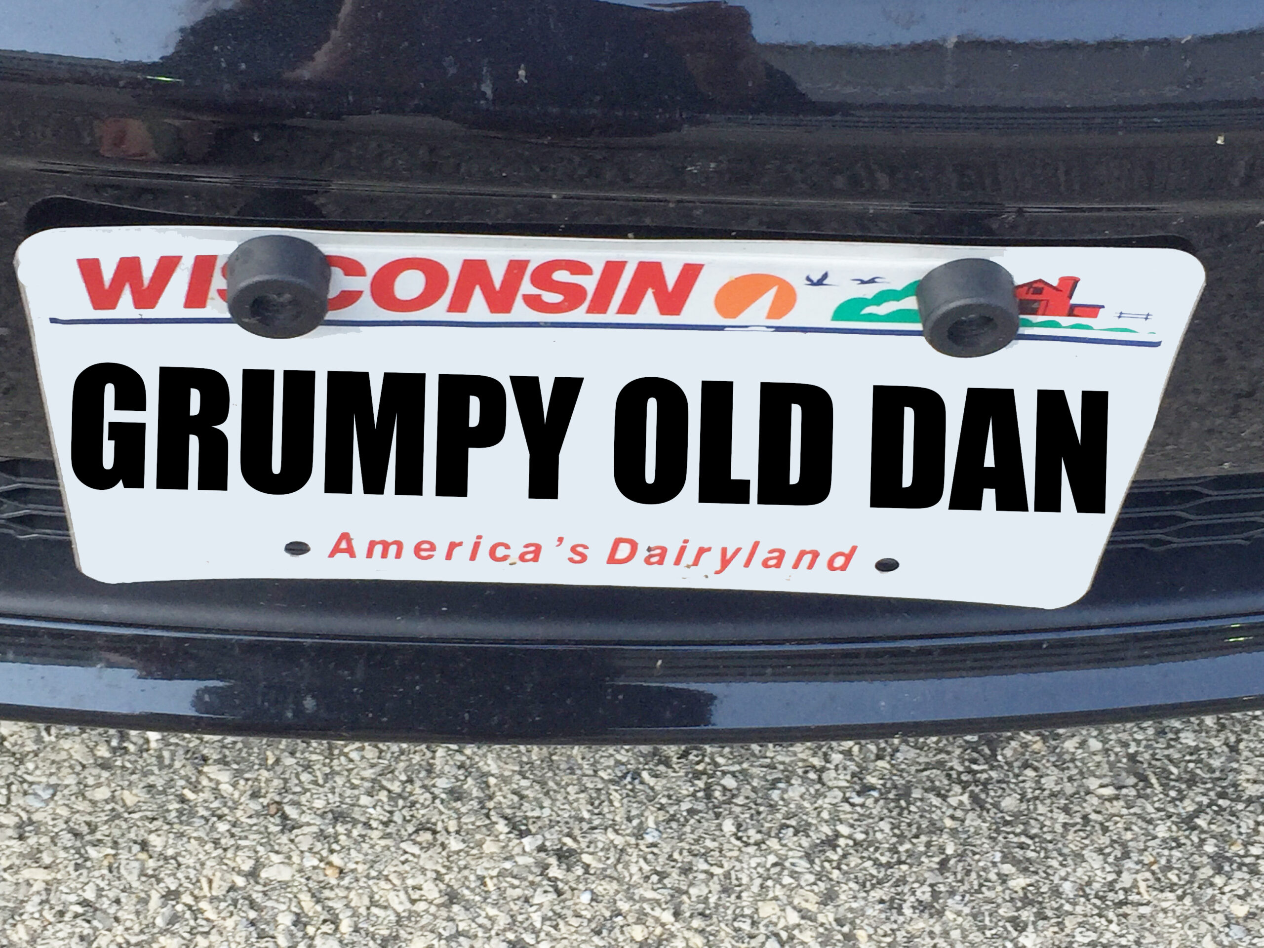 Grumpy Old Dan Smith bumper sticker