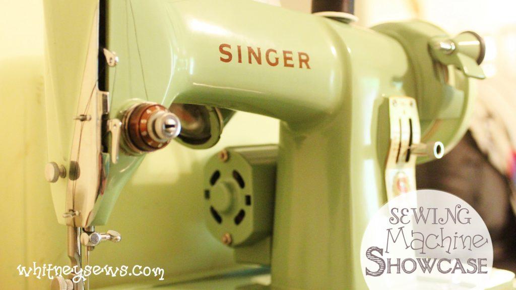 Sewing Machine Showcase Whitney Sews
