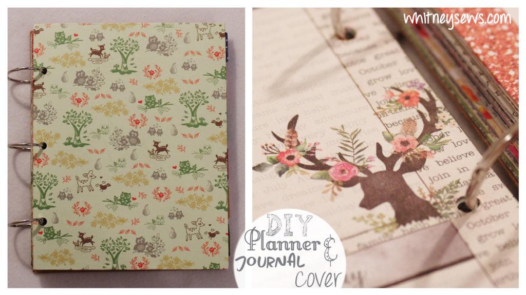 DIY Planner Cover Whitney Sews