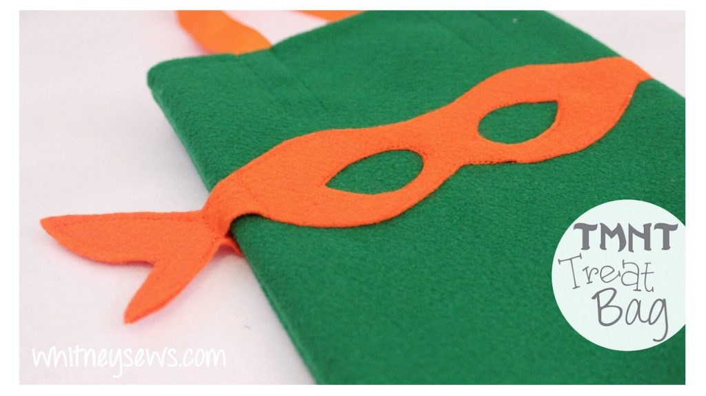 TMNT Treat Bag FREE How to from Whitney Sews