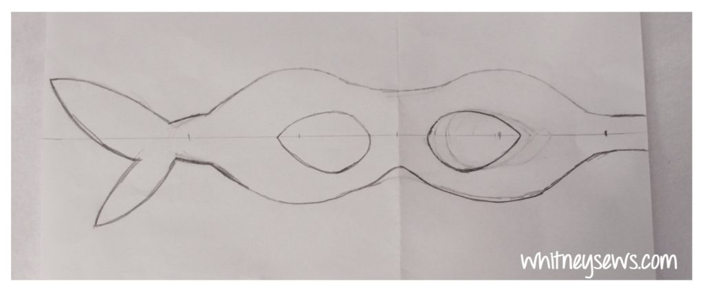 TMNT Mask Template by Whitney Sews
