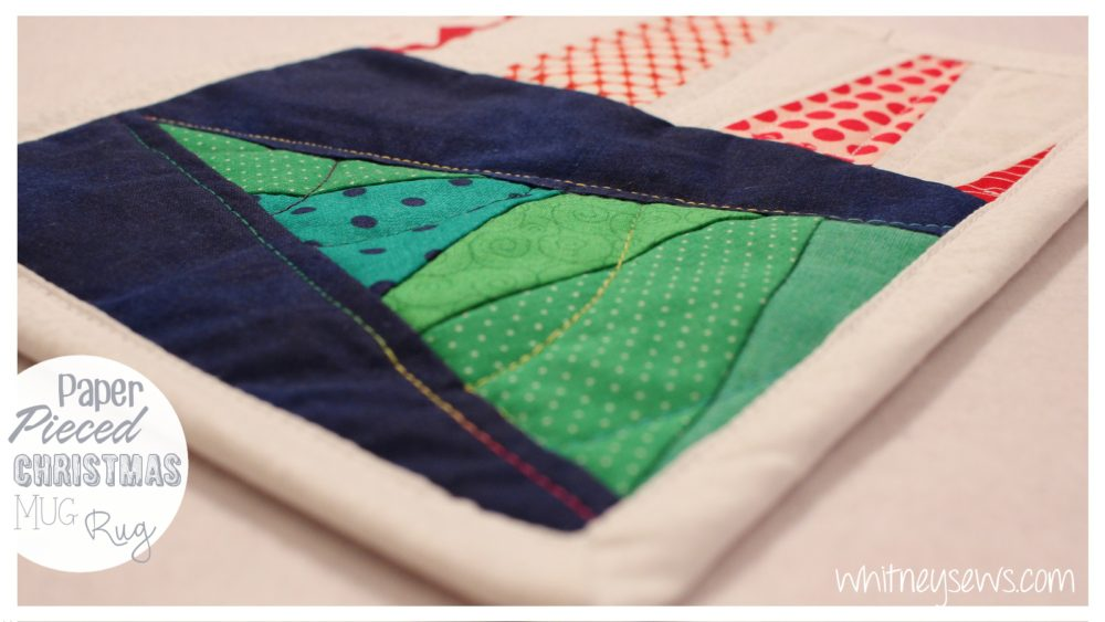 Mug Rug How to from Whitney Sews. Includes FREE video tutorial!