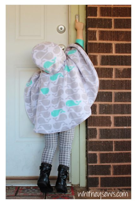 Car Seat Poncho from Whitney Sews