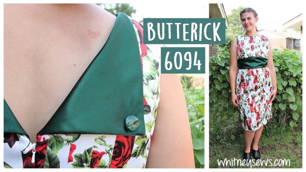 Stitch by stitch tutorial for butterick 6094