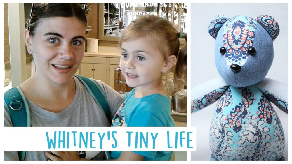 Whitney's Tiny Life - Behind the scenes of Whitney Sews