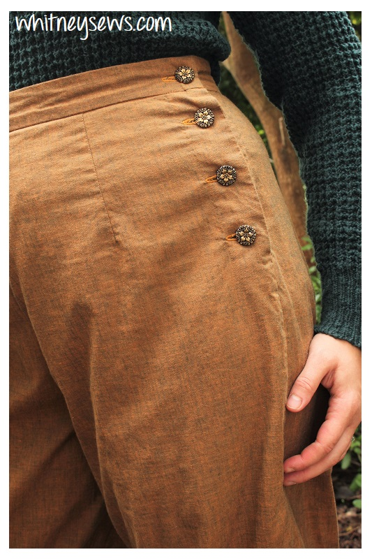 Handmade Vintage Style Pants Simplicity 8447