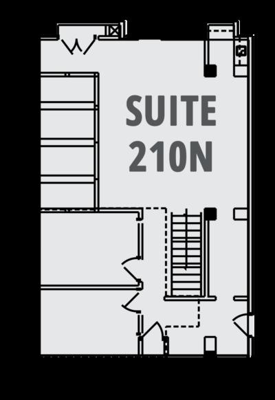 Case Suite 210N Layout