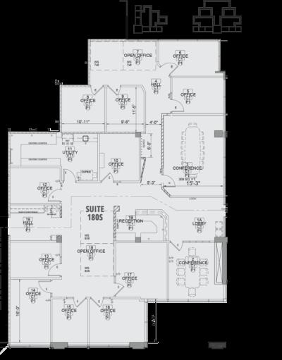 Court Suite 180S Layout