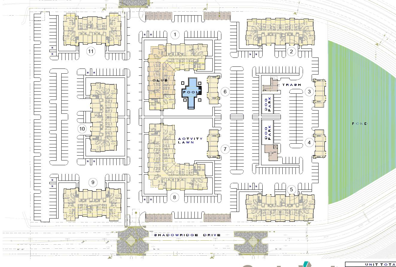 The Addison at Gateway Site Map
