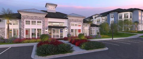 The Addison at Clermont rendering