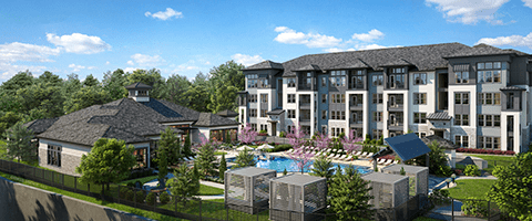 The Addison Eighty 50 rendering
