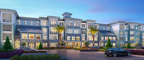 The Addison Skyway Marina rendering