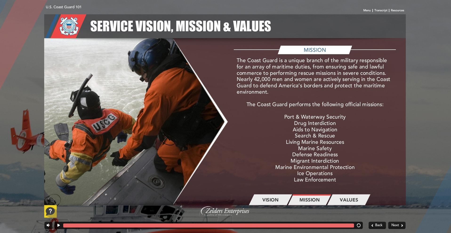 Coast Guard eLearning