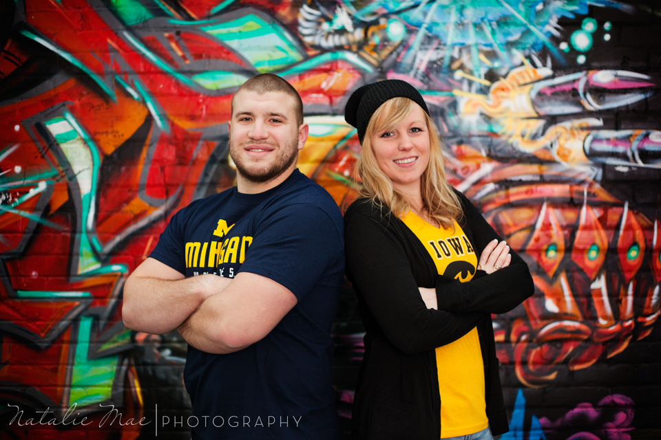 Detroit graffiti engagement