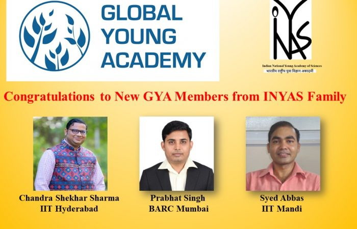 Congratulations to New GYA members from INYAS family.