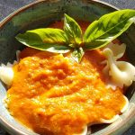 Tomato and carrot pasta sauce