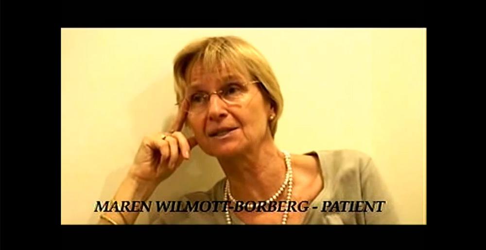 021-Maren-Wilmott-Borberg-sharing-her-pleasant-experience-at-Pradhan-Dental-Centre