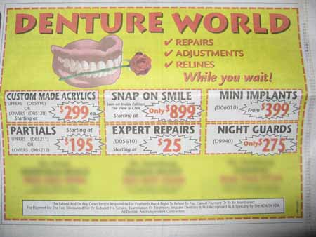 coupon dentistry